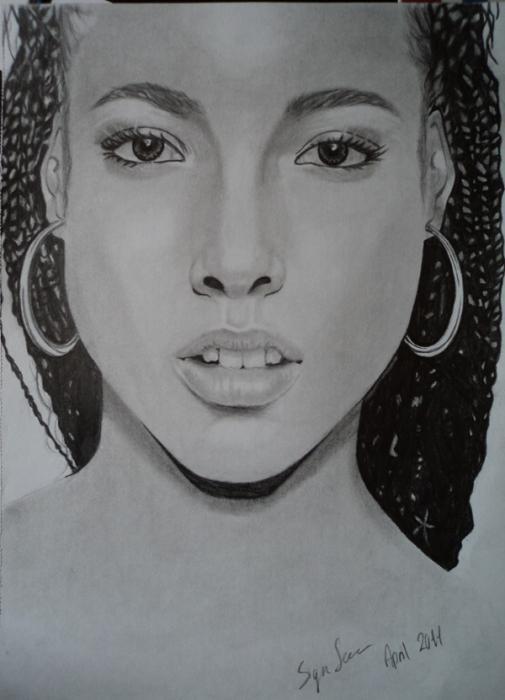 Alicia Keys by Sinea94